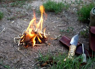 Wilderness Survival Tips - Fire starting techniques