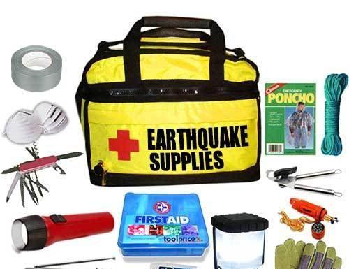 earth quake survival kit