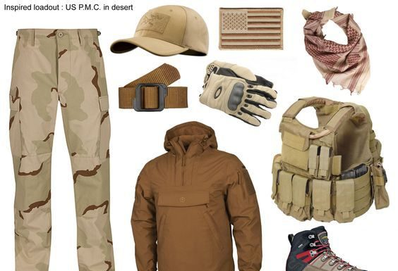 Outdoor Survival Clothing